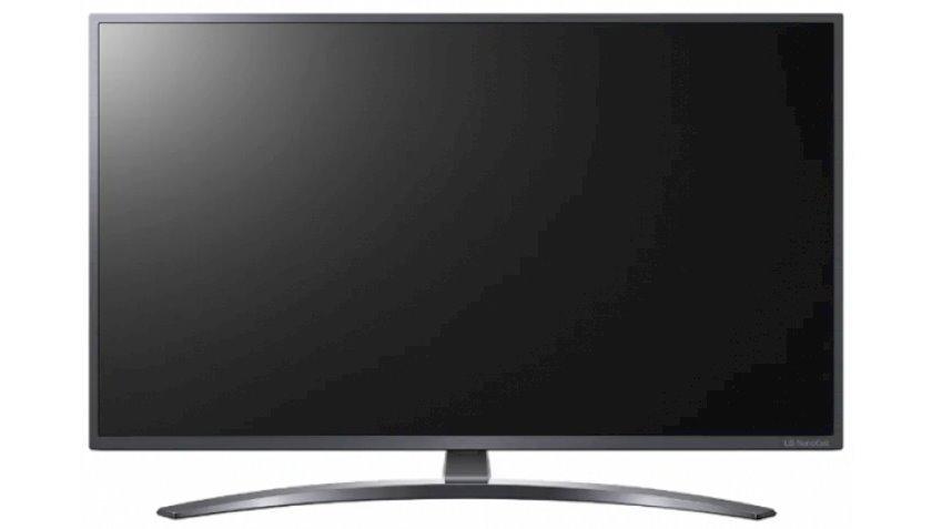 Televizor LG 50NANO796NF, qara