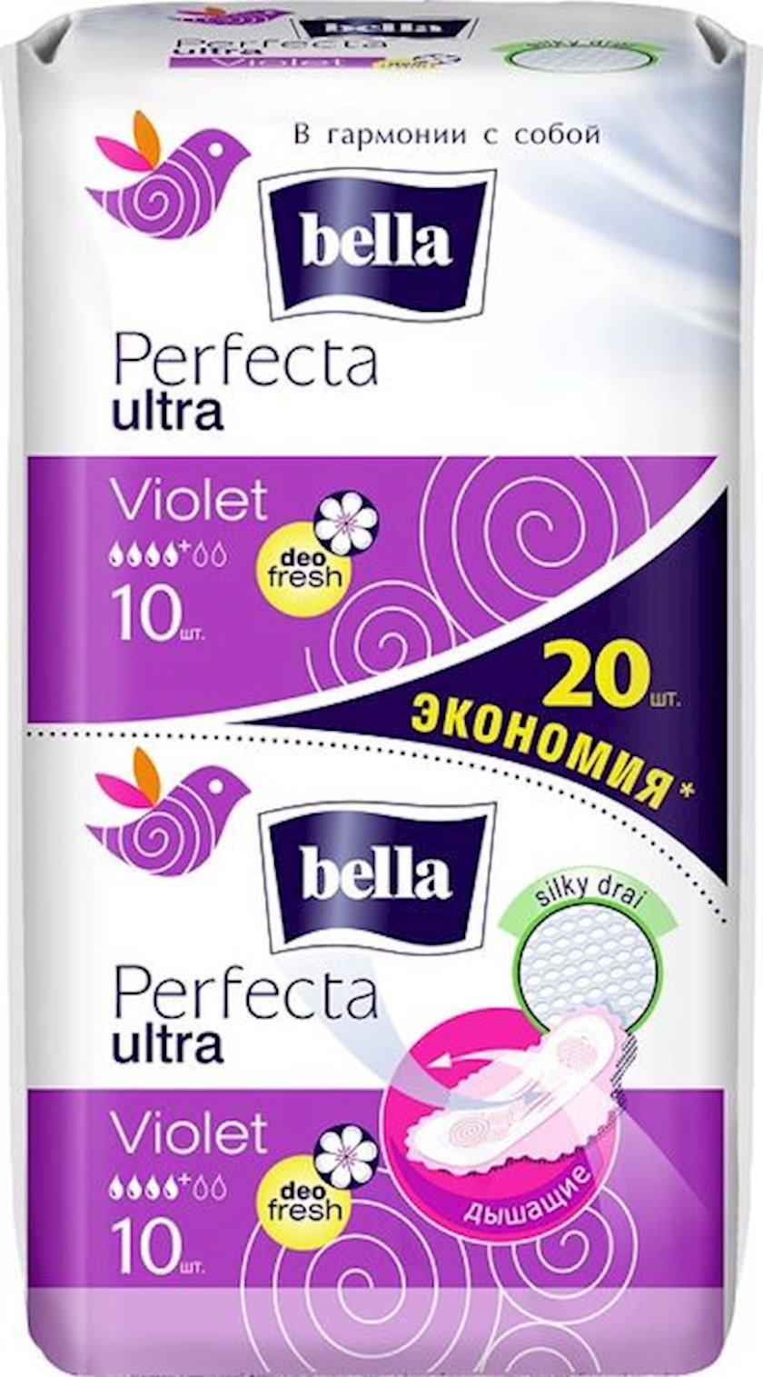 Gigiyenik bezlər Bella Perfecta Ultra Violet Deo Fresh, 10+10 əd