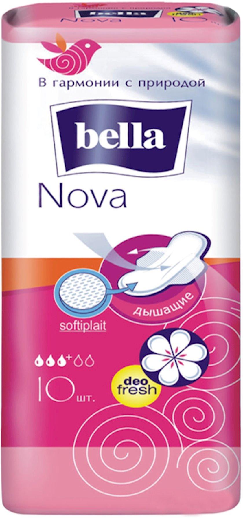 Gigiyenik bezlər Bella Nova Deo Fresh, 10 əd