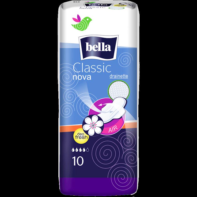 Gigiyenik bezlər Bella Classic Nova Deo Fresh, 10 əd