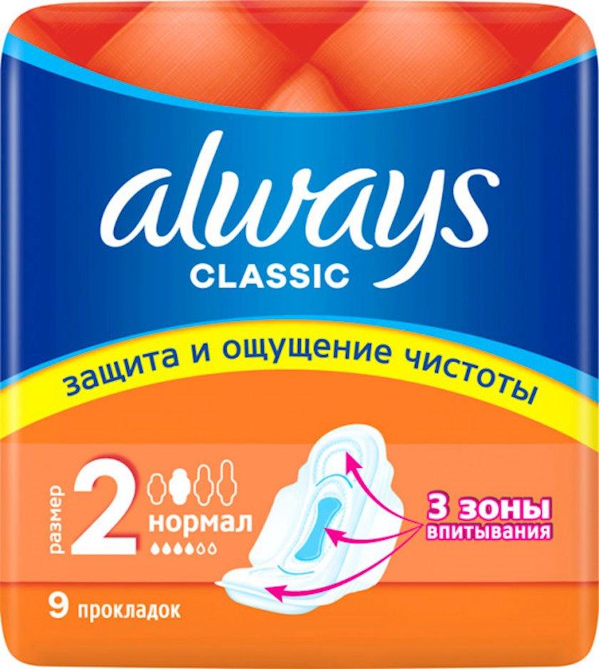Gigiyenik bezlər Always Classic Normal Single, 9 əd