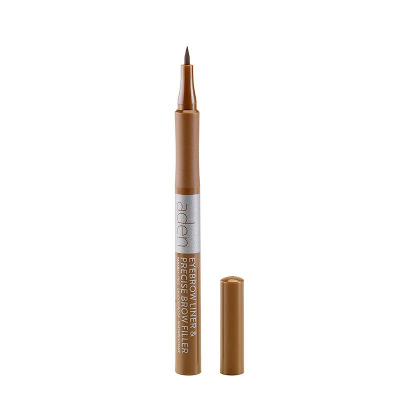 Qaş üçün marker Aden Eyebrow Liner 01 Auburne, 1 ml