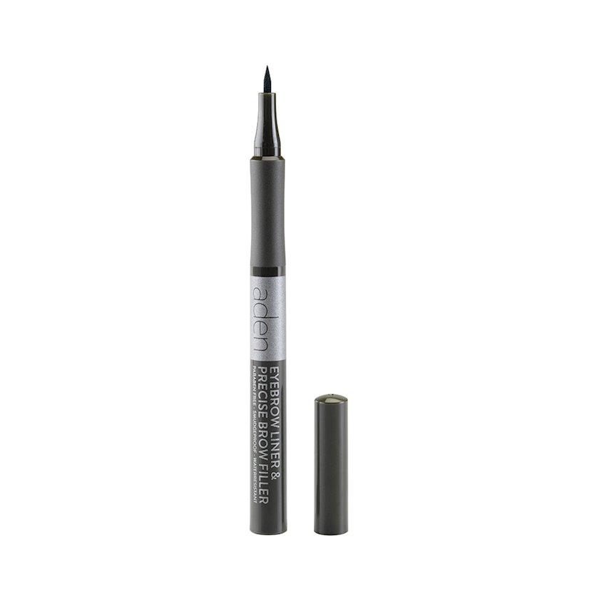 Qaş üçün marker Aden Eyebrow Liner 03 Ebony, 1 ml