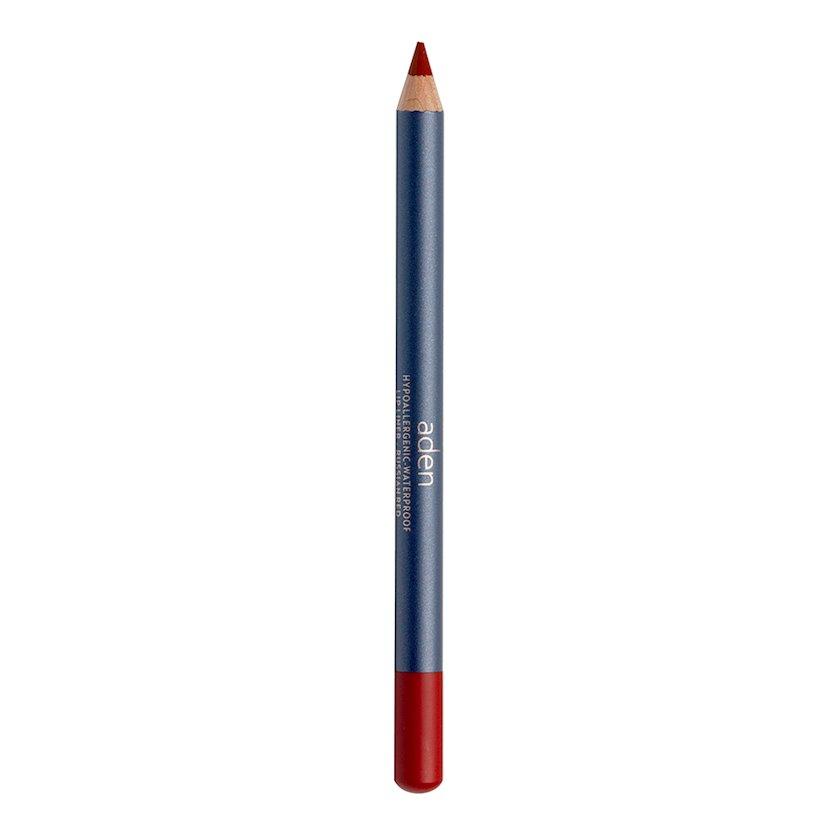 Dodaq üçün qələm Aden Lipliner Pencil 034 Rassian Red, 1.14 q