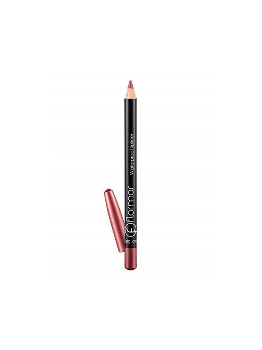 Dodaq üçün qələm Flormar Waterproof Lipliner Pencil 203 Subdued Pink, 1.14 q