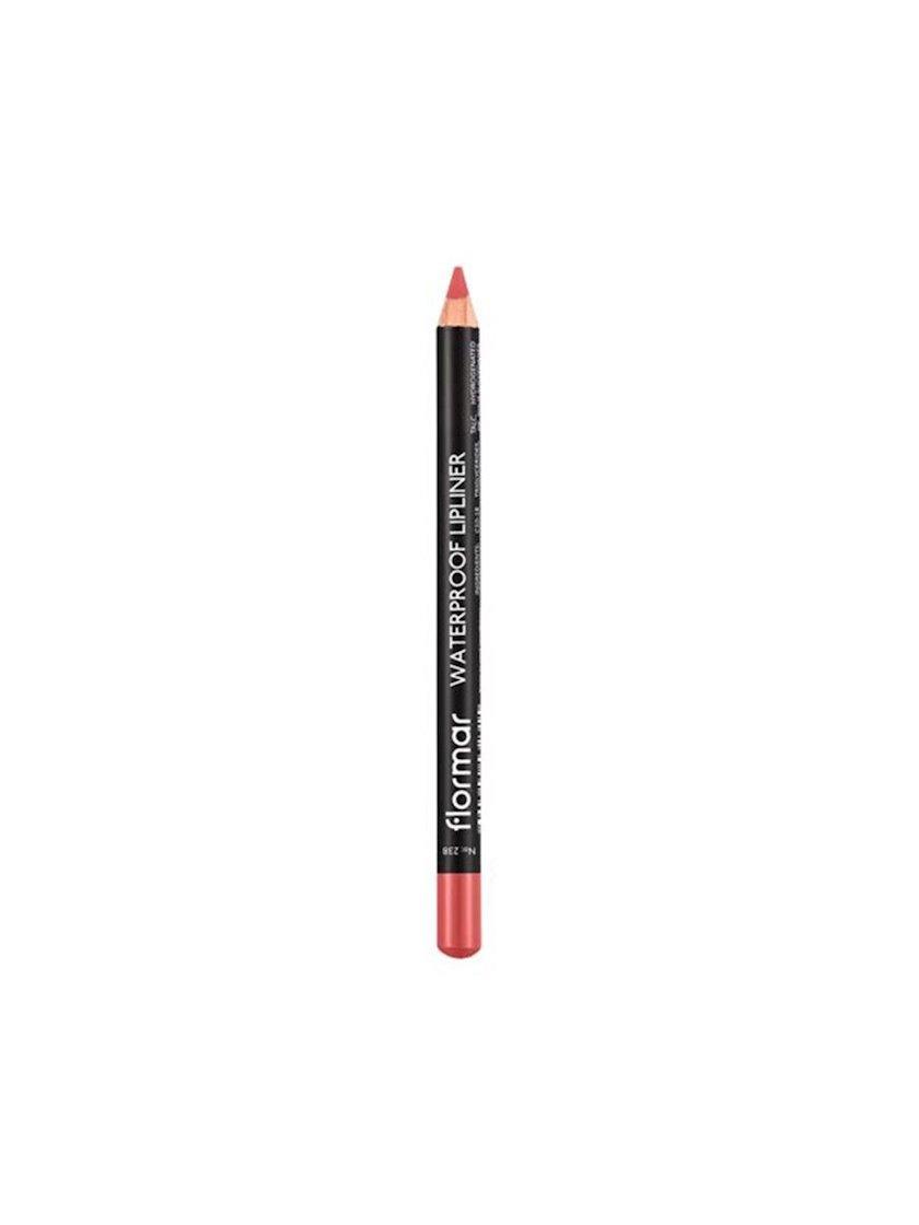 Dodaq üçün qələm Flormar Waterproof Lipliner Pencil 238 Pure Rose, 1.14 q