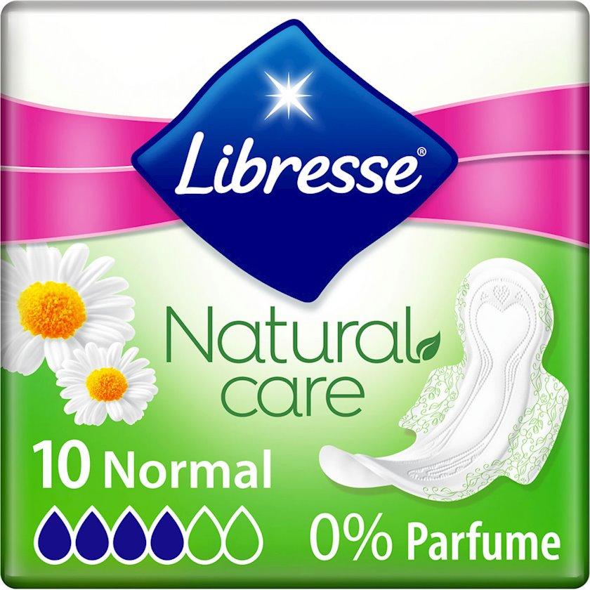 Gigiyenik bezlər Libresse Natural Care Ultra Clip Normal, 10 əd