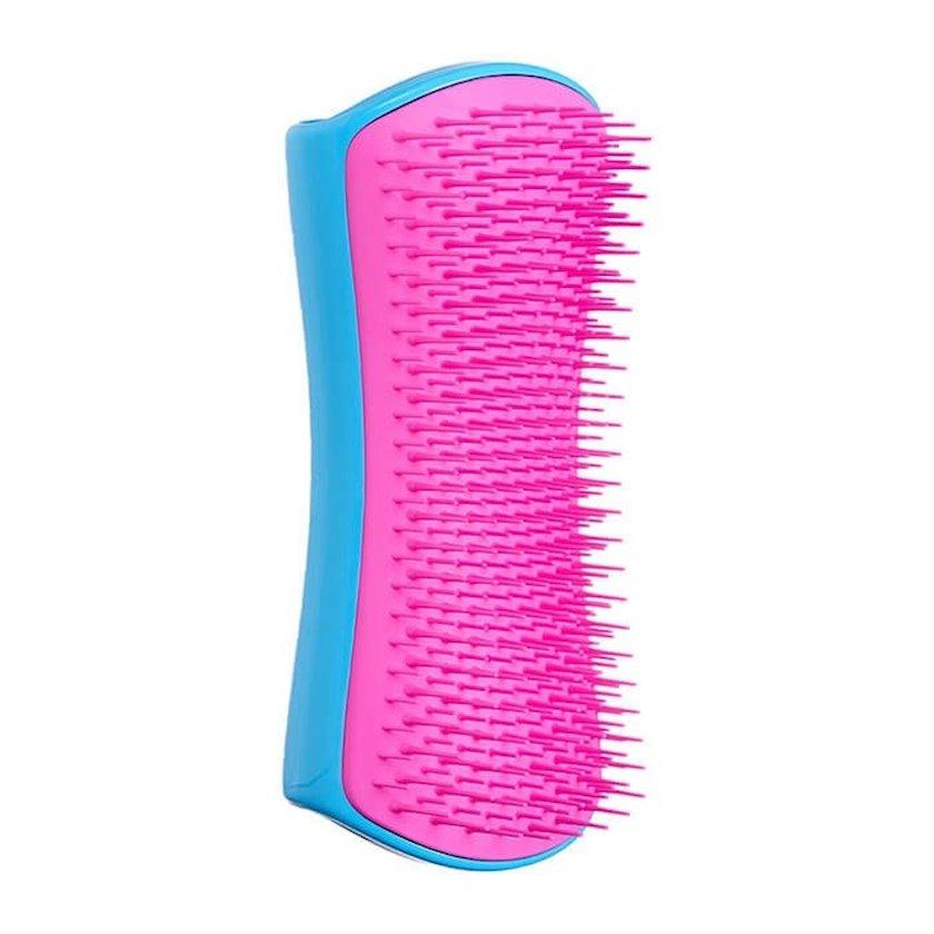 Daraq itlər üçün Pet Teezer De-shedding and Dog Grooming Brush Pink and Blue
