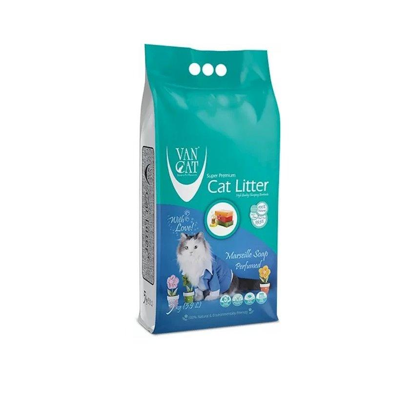 Topalaşan doldurucu Van Cat Super Premium Quality Marseille Soap 5 kq