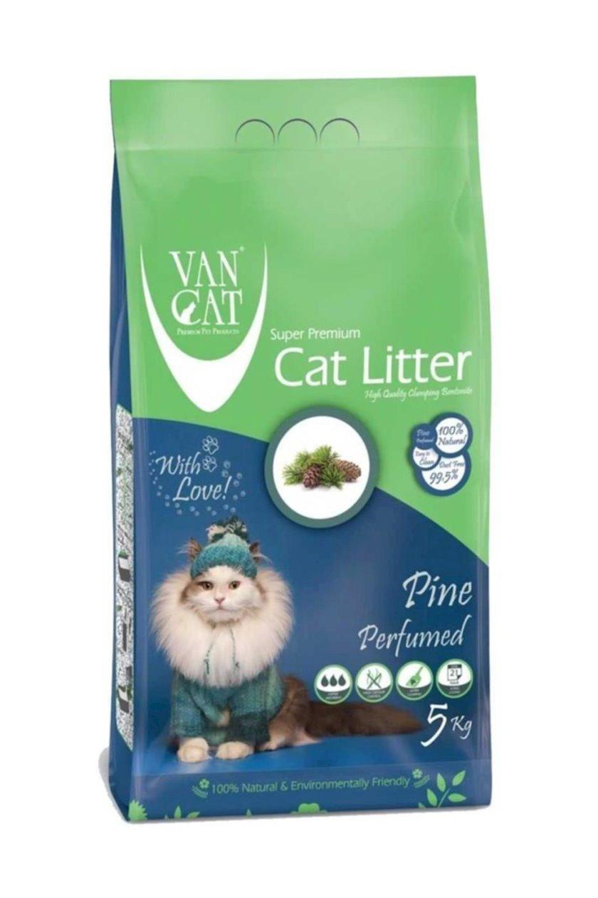 Topalaşan doldurucu Van Cat Super Premium Quality Pinе 5 kq