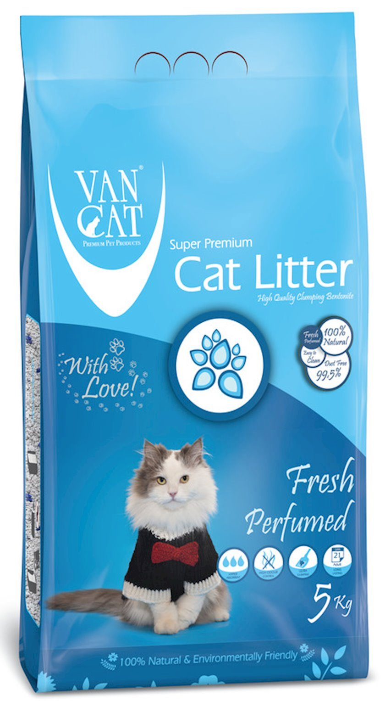 Topalaşan doldurucu Van Cat Super Premium Quality Fresh 5 kq