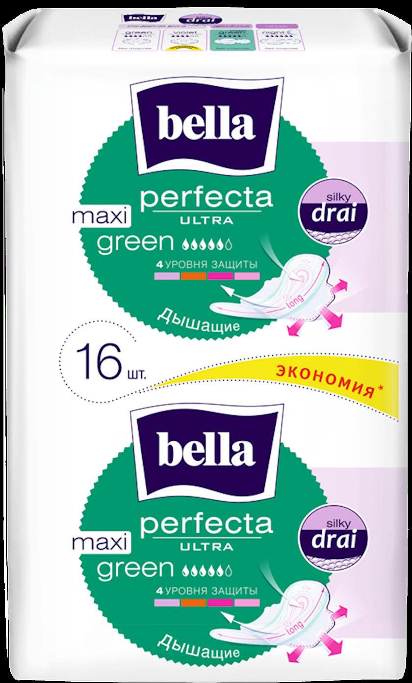 Gigiyenik bezlər Bella Perfecta Ultra Maxi Green, 16 əd
