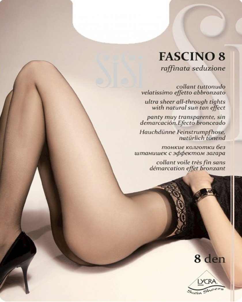 Kolqotqa SiSi Fascino, 8den, ölçü 2(S), Naturalle, bədən rəngi