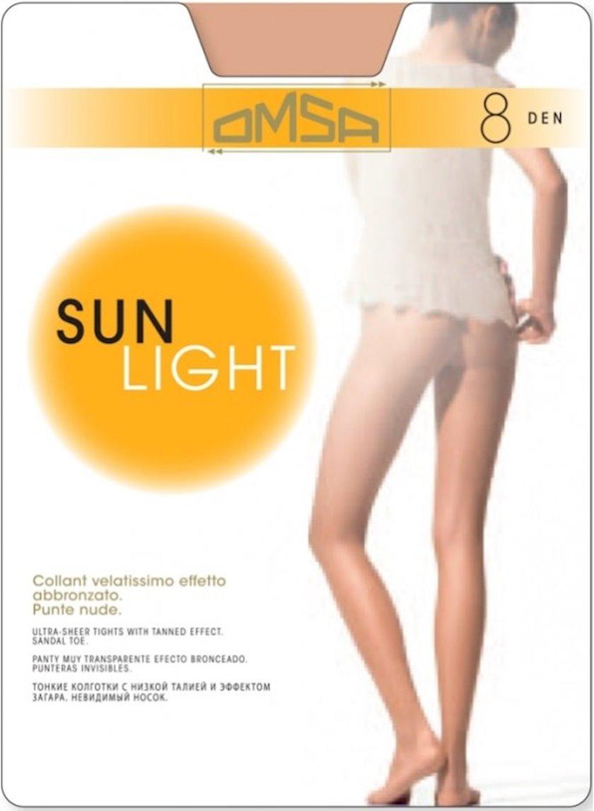 Kolqotqa Omsa Sun Light, 8den, ölçü 5(XL), Beige Naturel, bej-bədən rəngi