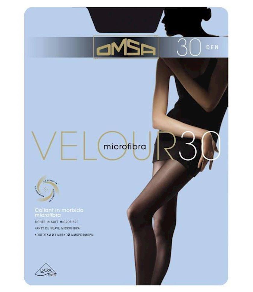 Kolqotqa Omsa Velour, 30den, ölçü 4(L), Marrone, şokolad