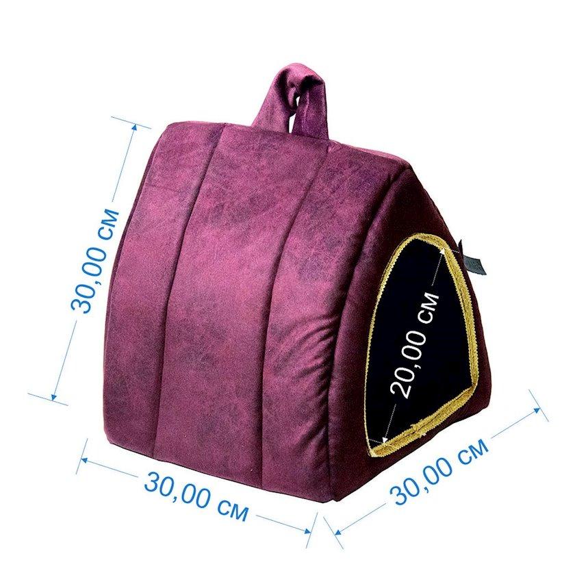 Еv Zoomir Purple Pyramid kiçik itlər və pişiklər üçün