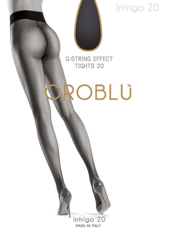 Kolqotqa Oroblu Intrigo, 20den, ölçü 3(M), Black, qara