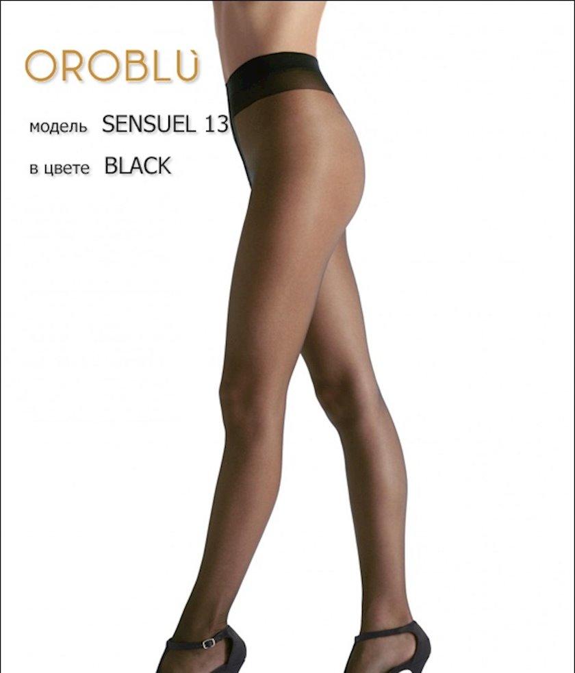 Kolqotqa Oroblu Sensuel, 13den, ölçü 3(M), Black, qara