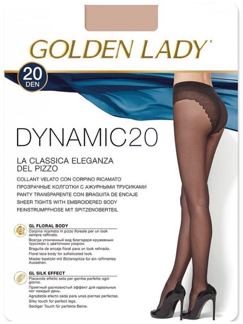 Kolqotqa Golden Lady Dynamic, 20den, ölçü 3(M), Daino, mis çalarlı qaralma