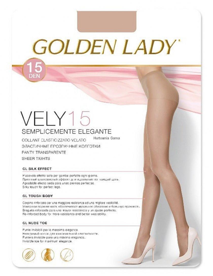 Kolqotqa Golden Lady Vely, 15den, ölçü 3(M), Melon, açıq qəhvəyi