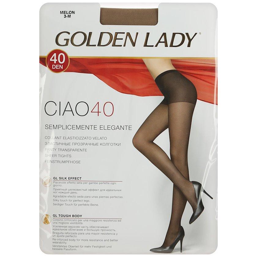 Kolqotqa Golden Lady Ciao, 40den, ölçü 4(L), Moro, qəhvəyi