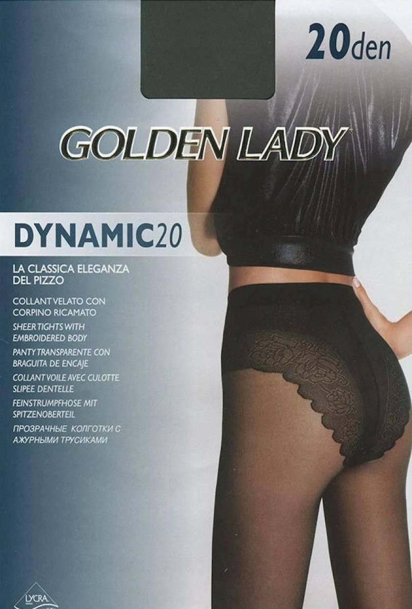 Kolqotqa Golden Lady Dynamic, 20den, ölçü 3(M), Fumo, boz