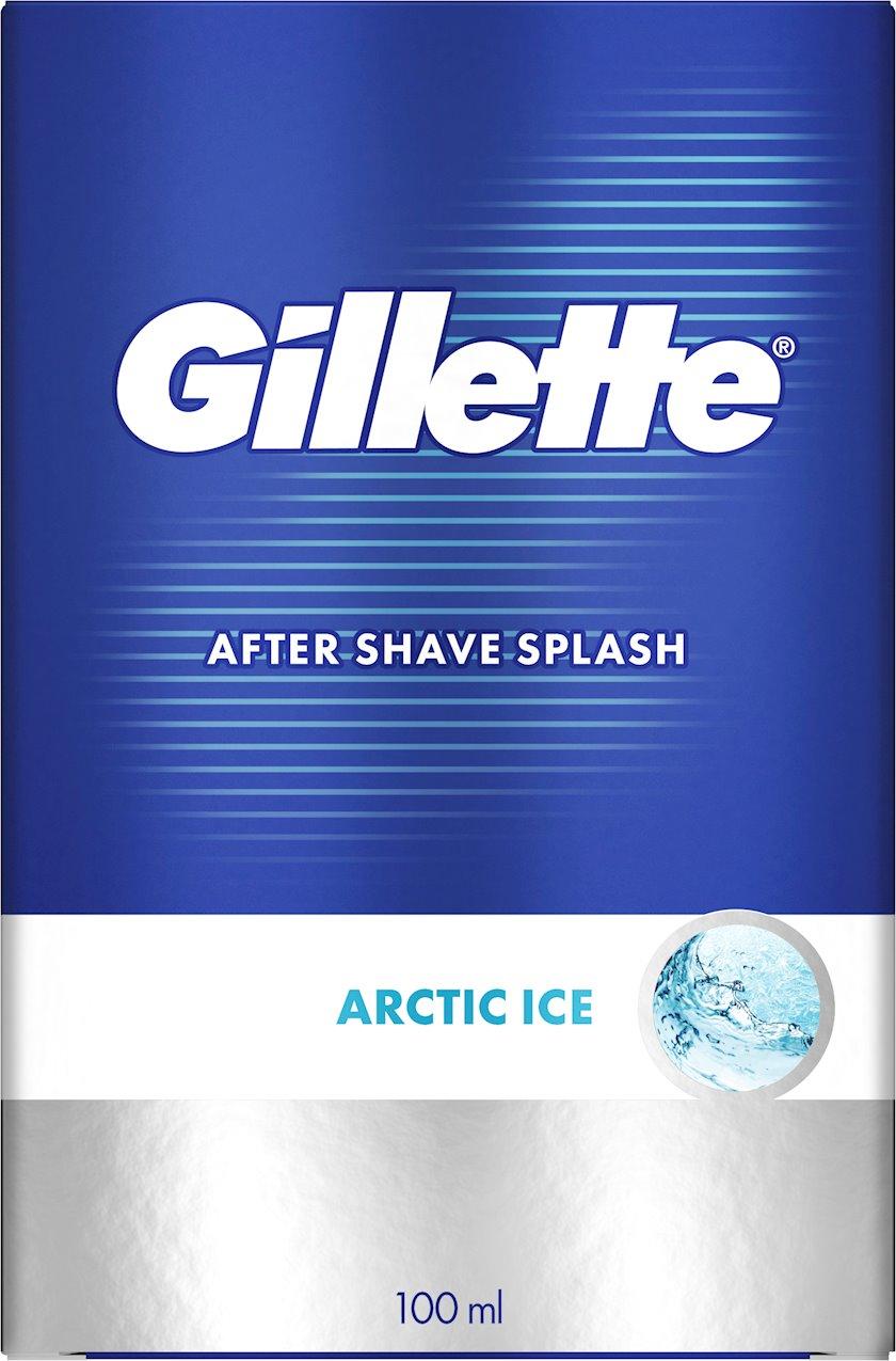 Təraş sonrası losyon Gillette Series Arctic Ice gümrahlaşdıran, 100 ml