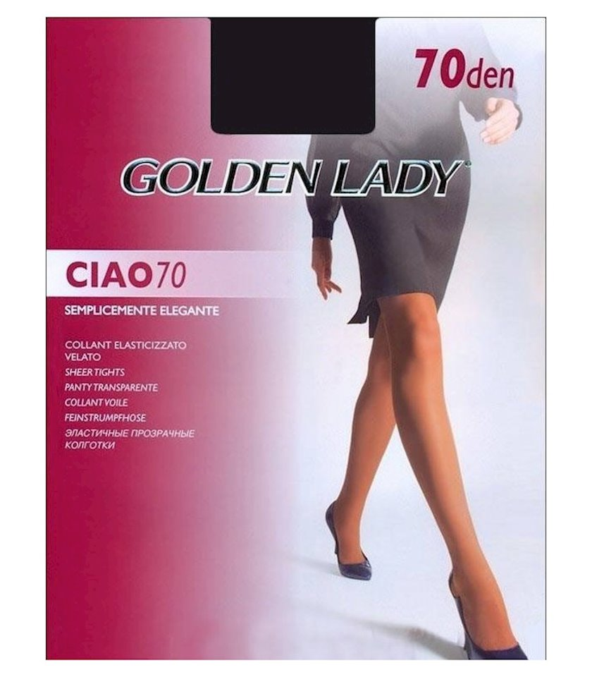 Kolqotqa Golden Lady Ciao, 70den, ölçü 3(M), Fumo, tüstülü