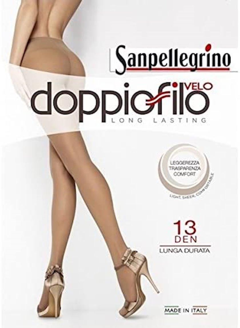 Kolqotqa Sanpellegrino Collant Doppio Filo, 13den, ölçü 3(M), Nero, qara