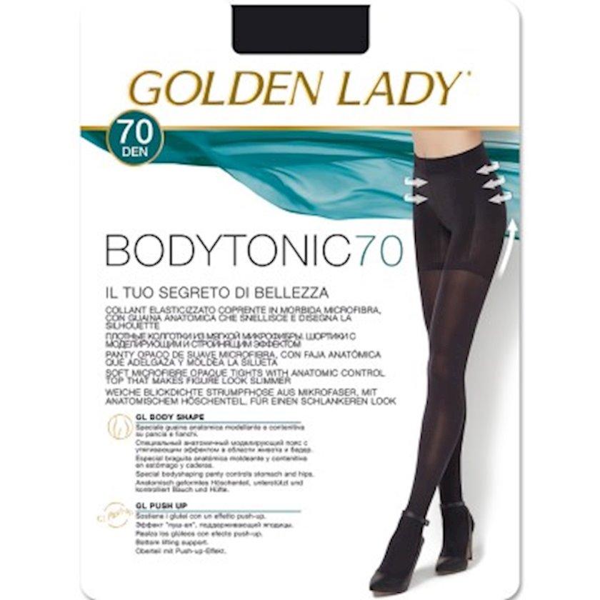 Kolqotqa Golden Lady BodyTonic, 70den, ölçü 3(M), Nero, qara