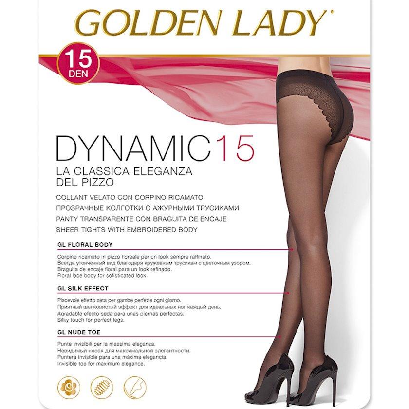 Kolqotqa Golden Lady Dynamic, 15den, ölçü 3(M), Nero, qara