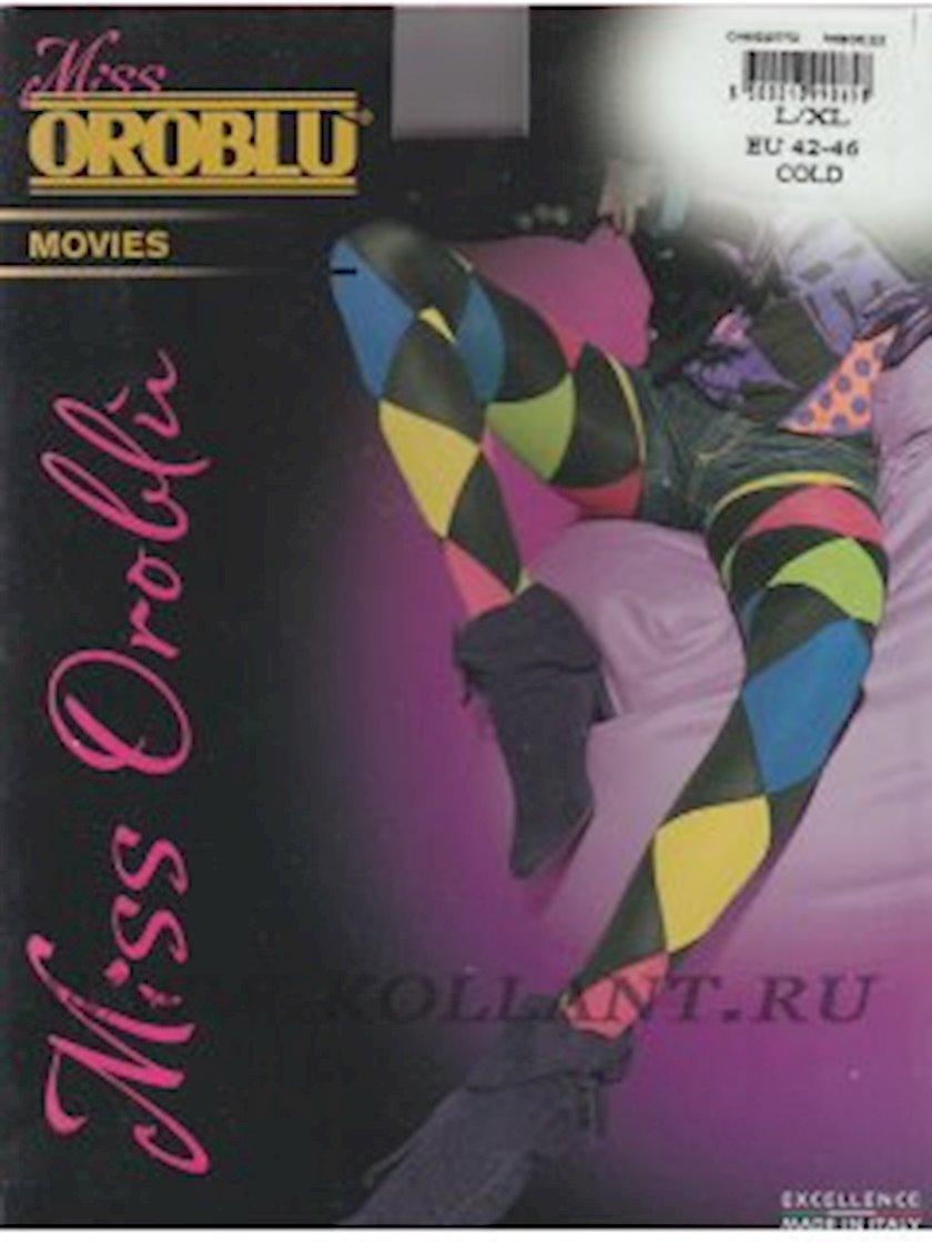 Kolqotqa Oroblu Movies, 80den, ölçü 4(L), Hot, göy-qara çalar