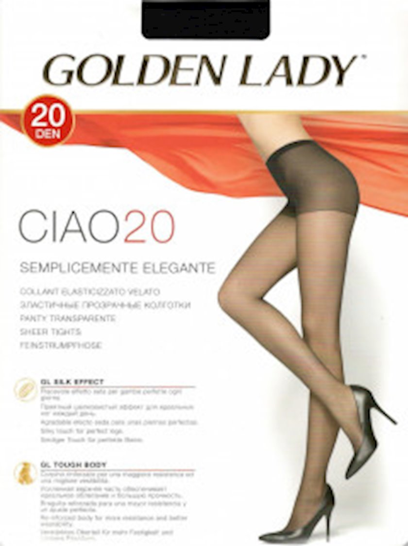Kolqotqa Golden Lady CIAO 20den, ölçü 3, Moro