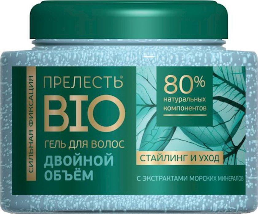 Saç üçün gel Прелесть Bio İkiqat həcm 250 ml