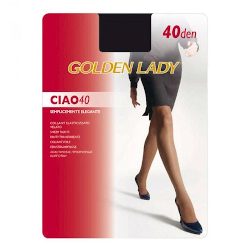 Kolqotqa Golden Lady Coll Ciao, 40 den, ölçü 5(XL), Nero, qara