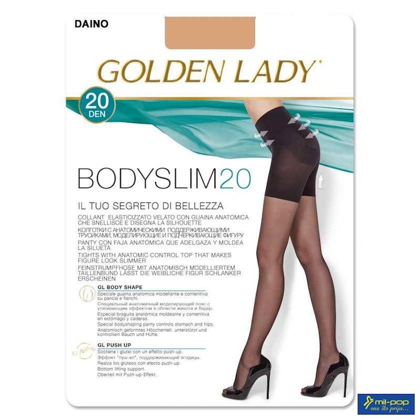 Kolqotqa Golden Lady Bodyslim, 20 den, ölçü 4(L), Nero, qara