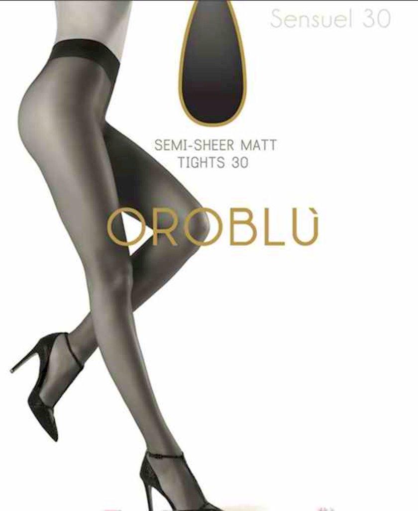 Kolqotqa Oroblu sensuel, 30 den, ölçü 2(S), Nero, qara
