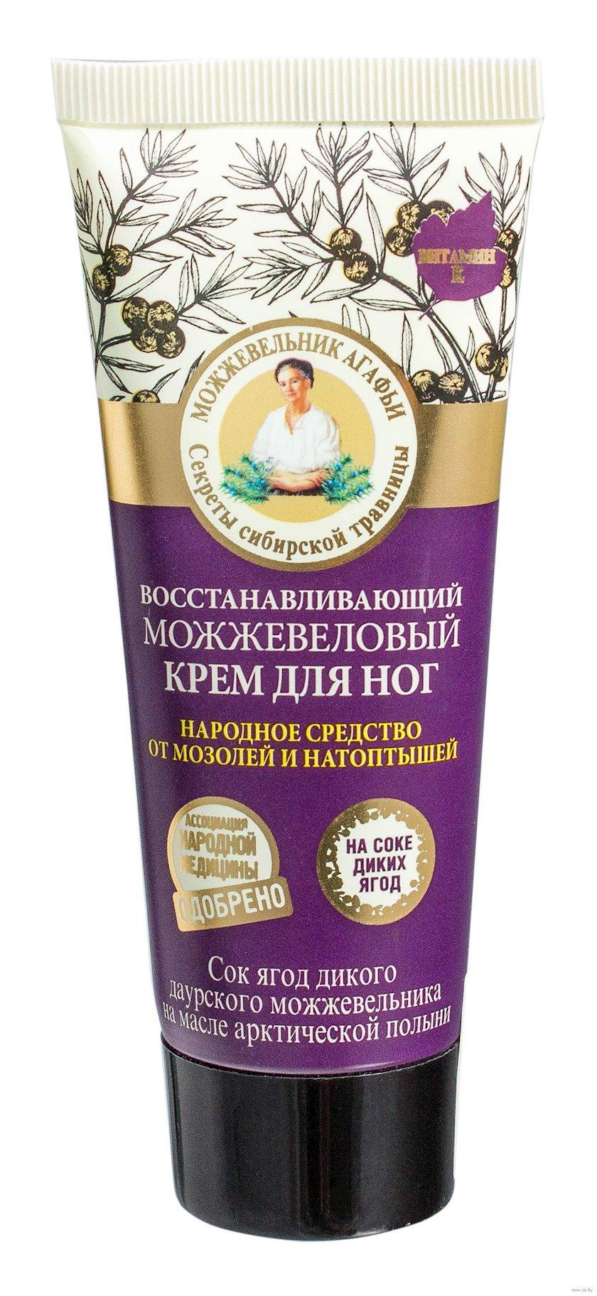 Ayaq kremi Рецепты Бабушки Агафьи Qidalandırıcı ardıclı 75 ml