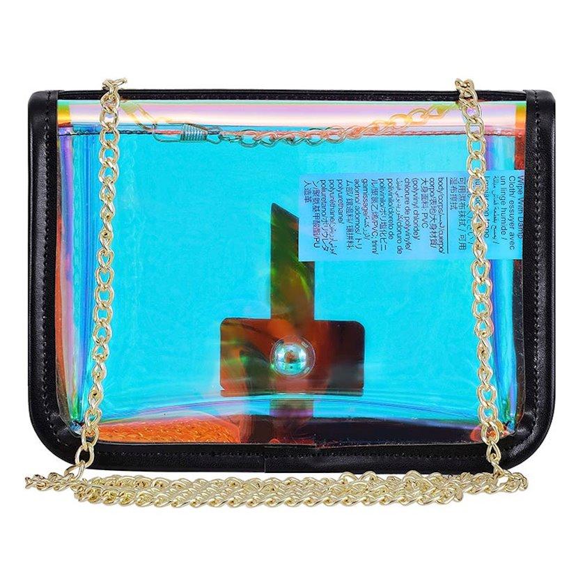 Qadın çantası Miniso Crossbody Bag 177759 Black, qara