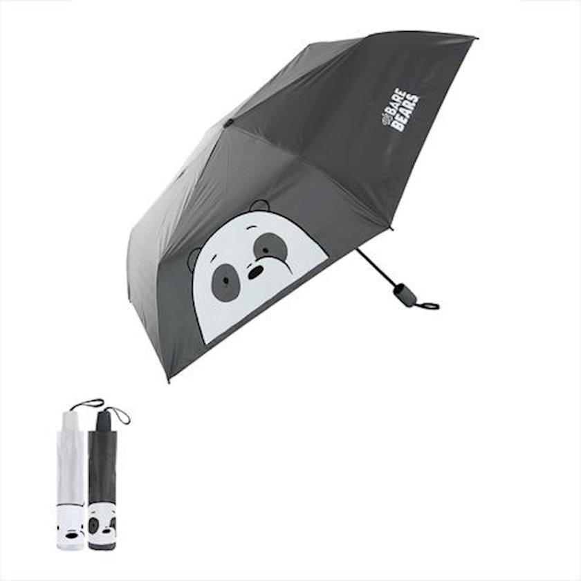 Çətir Miniso We Bare Bears UV Protection Umbrella, ağ, qara, qəhvəyi