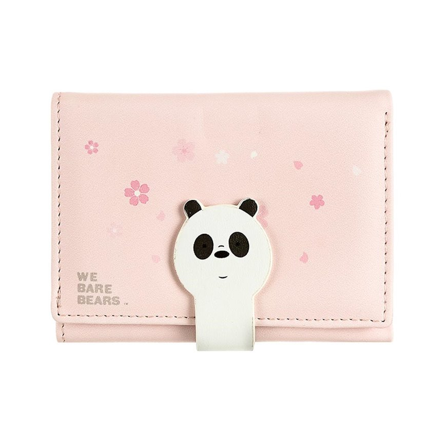 Pul kisəsi Miniso We Bare Bears Panda, Panda ayısı, çəhrayı
