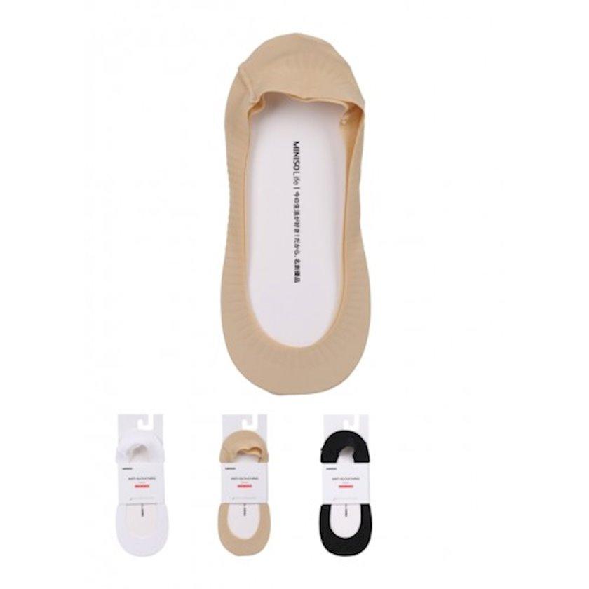 Corab Miniso Fashionable Invisible Low Cut Socks, çeşiddə