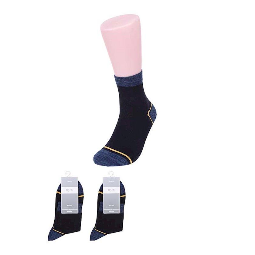 Corab Miniso Men's Fashionable Crew Socks, Dark Blue, tünd-göy