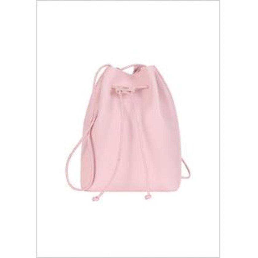 Bel çantası Miniso Simple Mini Bucket Bag, Pink, çəhrayı