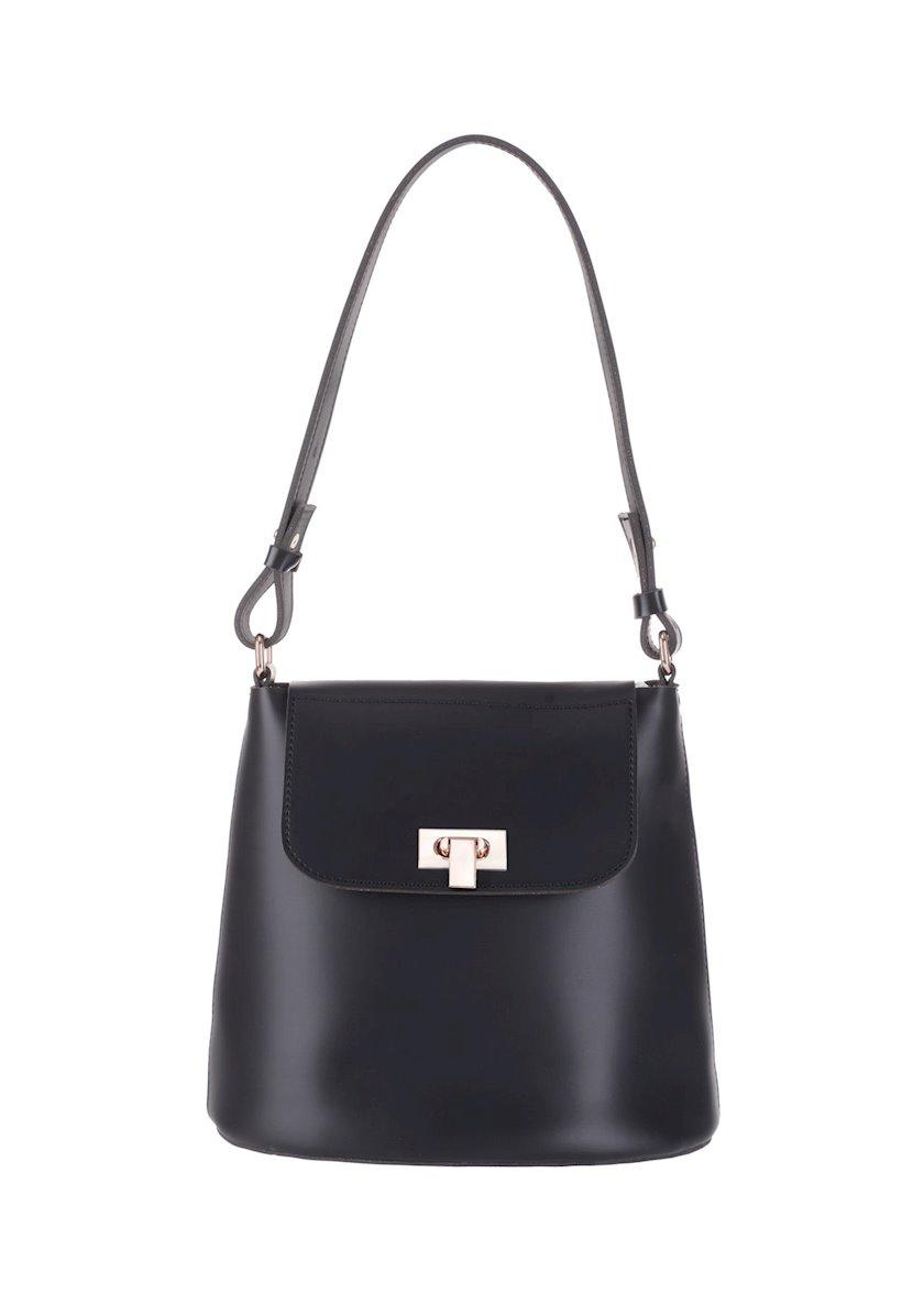 Qadınlar üçün çanta Miniso Shoulder Bag, Black, qara
