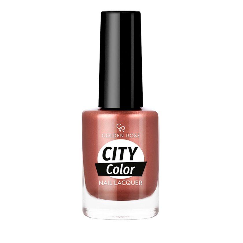 Dırnaq üçün lak Golden Rose City Color №41