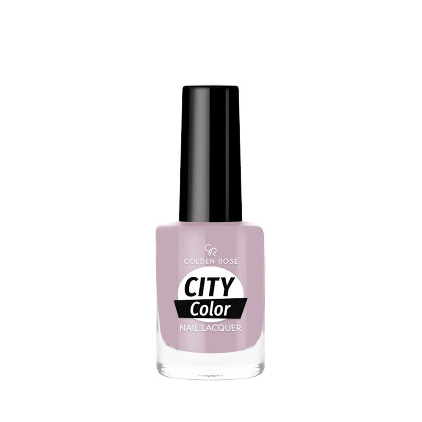 Dırnaq üçün lak Golden Rose City Color №70