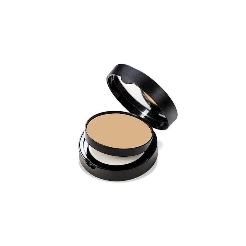Krem-kirşan parıltı effekti ilə Note Luminous Silk Cream Powder 3 Medium Beige