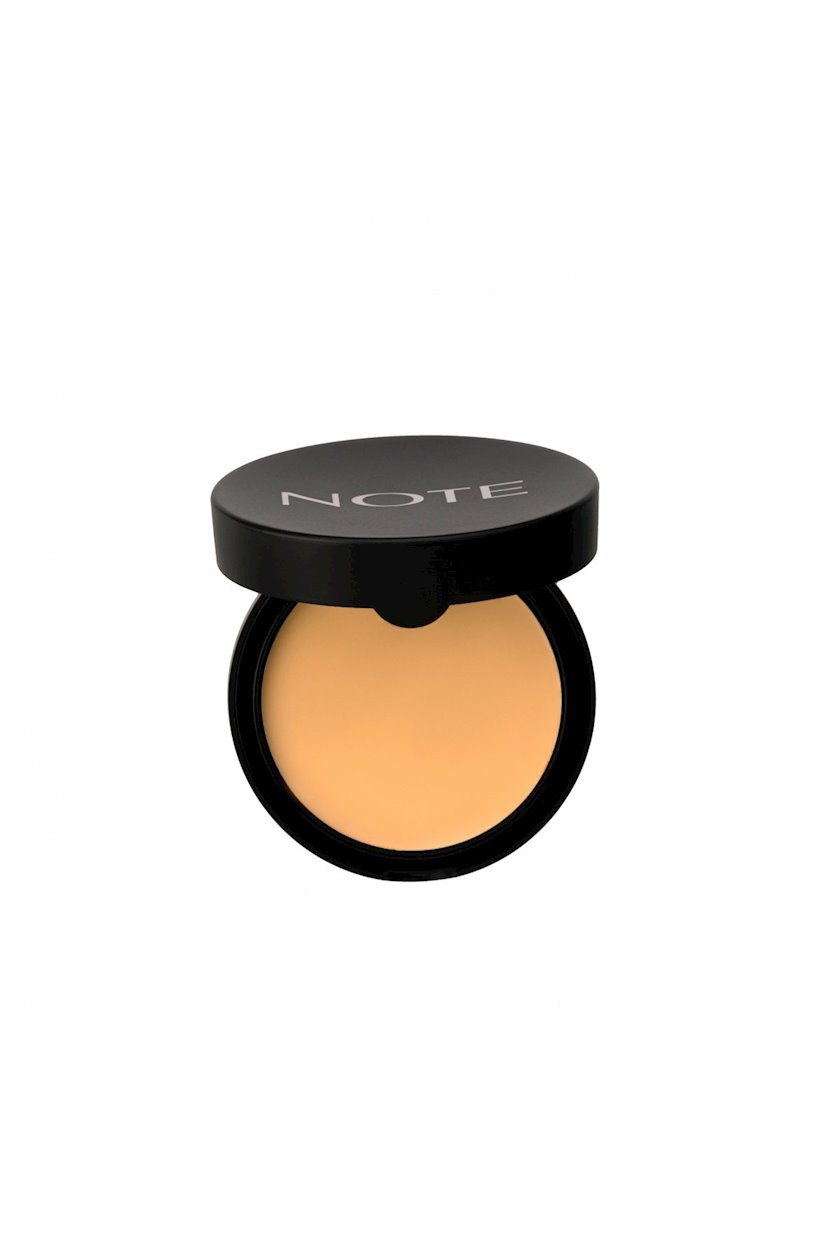 Krem-kirşan parıltı effekti ilə Note Luminous Silk Cream Powder 4 Sand