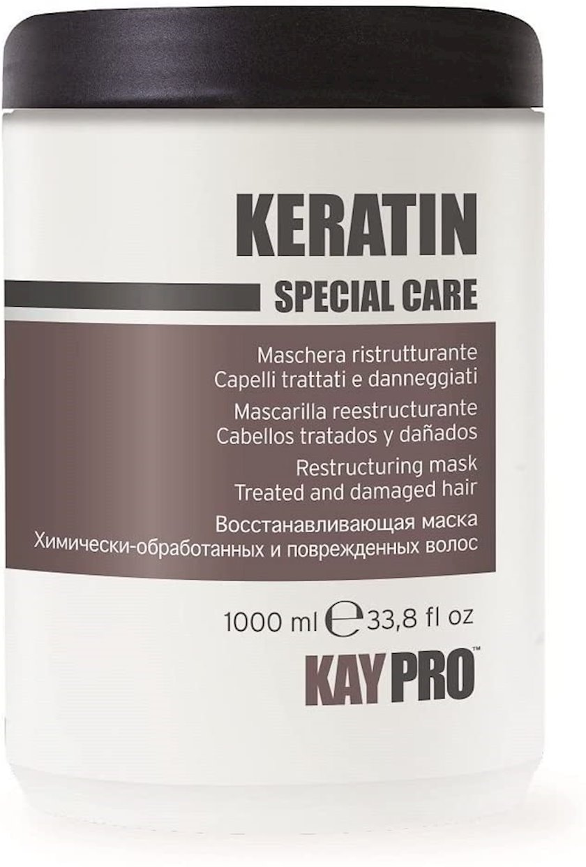 Saç üçün maska KayPro Keratin Special Care,1000 ml